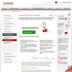 Outil de supression de virus Comodo Cleaning Essentials