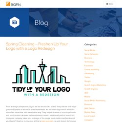 Spring Cleaning – Freshen Up Your Logo with a Logo Redesign - Bigfin