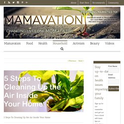 5 Steps To Cleaning Up the Air Inside Your Home – Mamavation