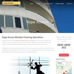 Best Rope Access Cleaning in Kirkcaldy, Edinburgh, Scotland