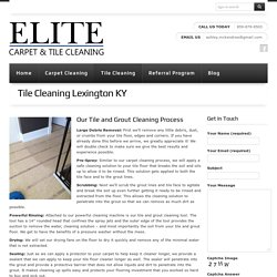 Tile & Grout Cleaning Lexington