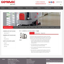 Carpet Cleaning Machine For Commercial Carpet Cleaning