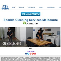 Office Cleaning Port Melbourne, Office Cleaners Melbourne