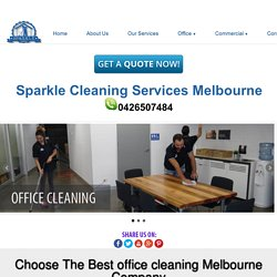 Choose The Best office cleaning Melbourne Company