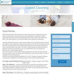 Carpet Steam Cleaning Burwood
