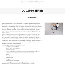 Cleaning Service in Morris County