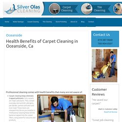 Carpet Cleaning Oceanside CA - Carpet Cleaners