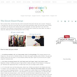 Cleaning Out Closet, How To Organize Closet, Organizing Wardrobe
