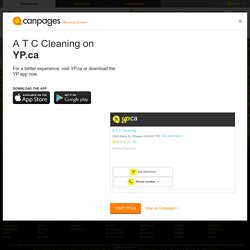 A T C Cleaning On Canpages.ca