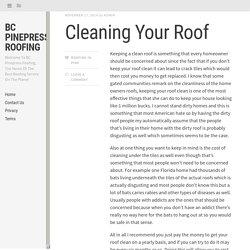 BC Pinepress Roofing