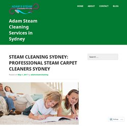 Steam Cleaning Sydney: Cheap Carpet Cleaners in Sydney
