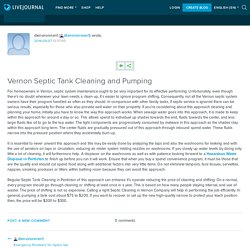 Vernon Septic Tank Cleaning and Pumping: dlenvironmen1