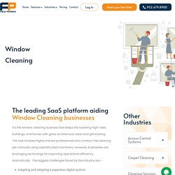 Window Cleaning Service Scheduling Software