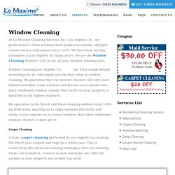Lo Maximo Cleaning Services Inc.