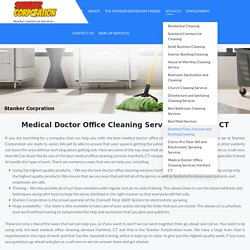 Best Medical and Doctor Office Cleaning Services