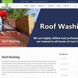 Roof Cleaning Services Los Angeles – EnviroStripe