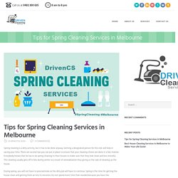Spring Cleaning - Tips for Spring Cleaning Services in Melbourne