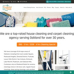 House Cleaning Services Oakland CA 2020