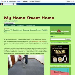 Reasons To Book Carpet Cleaning Services From a Reliable Firm