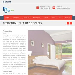 Hire Residential Cleaning Services In Montreal, Canada