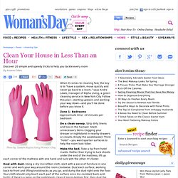 Cleaning Shortcuts - Speed-Cleaning Tips at WomansDay