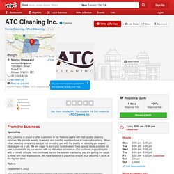 ATC Cleaning On Yelp