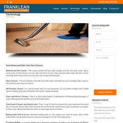 Carpet & Tile Cleaning Tipes in Sydney,Castle Hill,Ryde