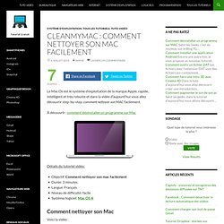 CleanMyMac : comment nettoyer son Mac facilement