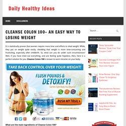 Cleanse Colon 100 Reviews