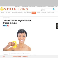 Juice Cleanse Tryout Made Super Simple