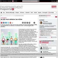 Le Lifi veut séduire les villes – Cleantech – Environnement-magazine.fr