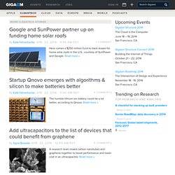 Earth2Tech - Cleantech, Green IT and Smart Grid News and Analysis