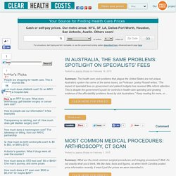 Blog - Clear Health Costs
