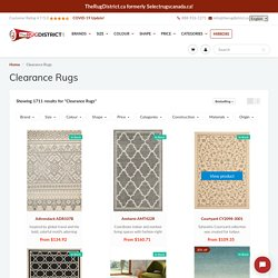 Buy Clearance Rugs in Canada at Discounted Prices