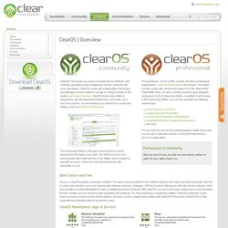 ClearOS | Overview | Software