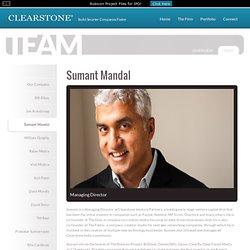 Venture Partners « Sumant Mandal