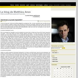 Le blog de Matthieu Aron » Archive du blog » clearstream:un proc