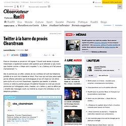 Twitter à la barre du procès Clearstream