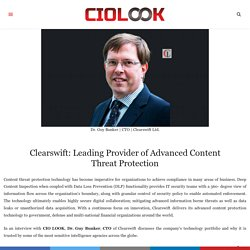 Leading Provider of Advanced Content Threat Protection