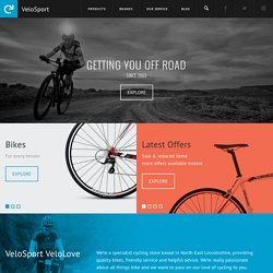 VeloSport, Cleethorpes, UK - Specialized, Trek, Focus & Genesis Bikes & Cycle Accessories