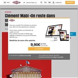Clément Mabi «On reste dans unelogique où le politique garde lecontrôle»