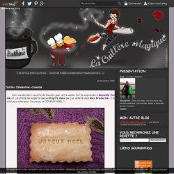 Sablés Clémentine-Cannelle - La Cuillère Magique