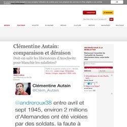 Clémentine Autain: comparaison et déraison