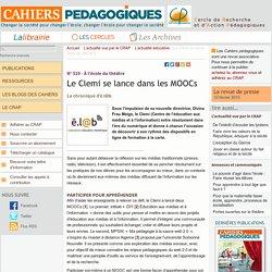 Le Clemi se lance dans les MOOCs