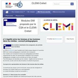 [CLEMI-Créteil] Modules EMI proposés par le CSA et le CLEMI-Créteil