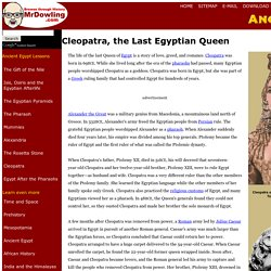 Cleopatra for Kids-the last Egyptian Queen-mrdowling.com