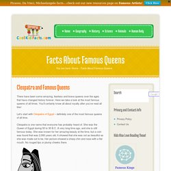 Cleopatra Facts For Kids