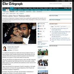 Clerics salute 'brave' Pakistan killer
