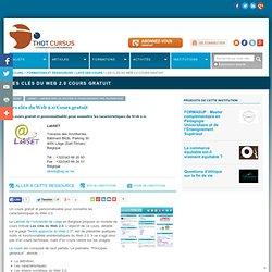 Les clés du Web 2.0 Cours gratuit : : Répertoire : Thot Cursus
