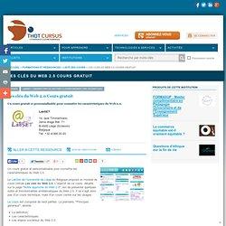 Les clés du Web 2.0 Cours gratuit